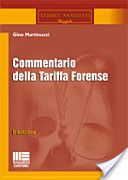 Commentario della tariffa forense